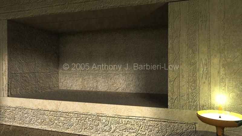 Left Shrine niche