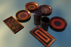 reproduction lacquer vessels